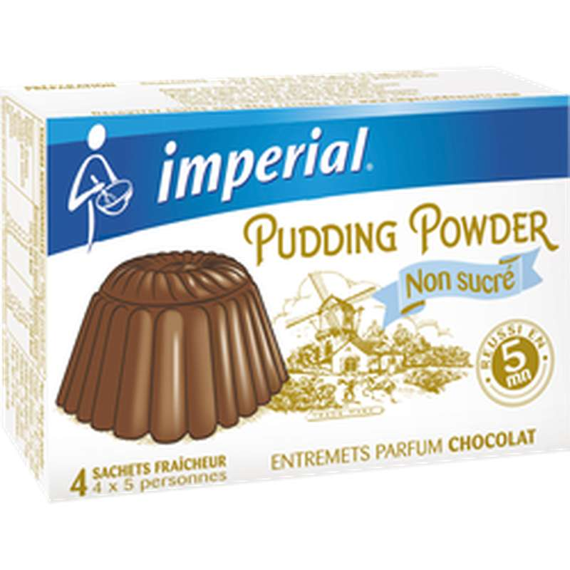 Préparation pour pudding au chocolat, Imperial (140 g)