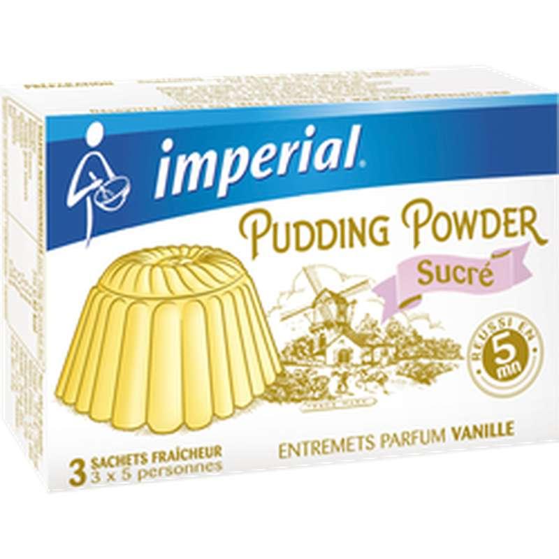 Préparation pour pudding sucré à la vanille, Imperial (180 g)