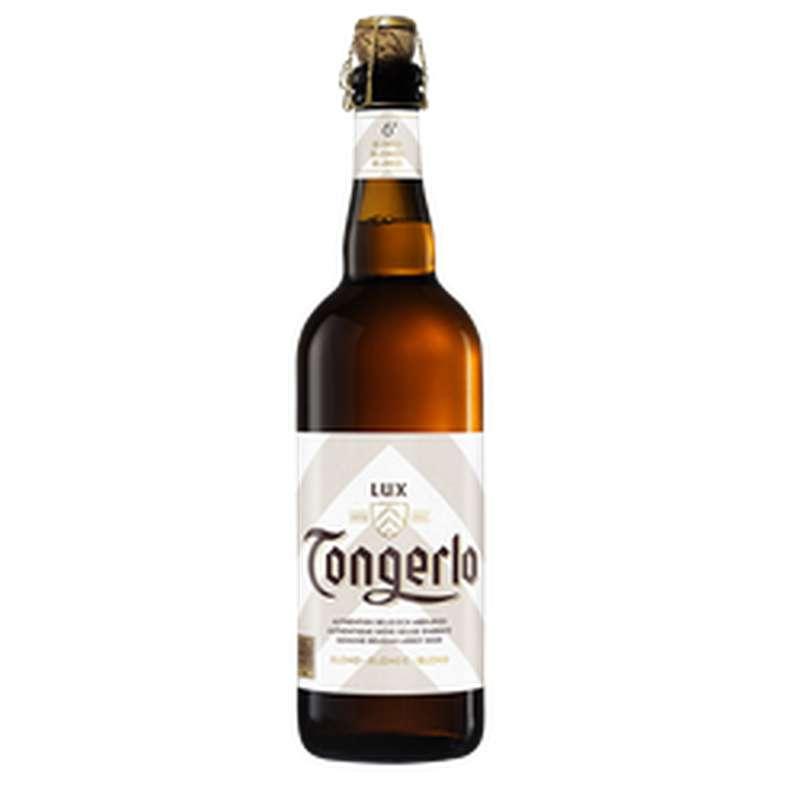 Bière blonde d'abbaye 6°, Tongerlo Lux (75 cl)