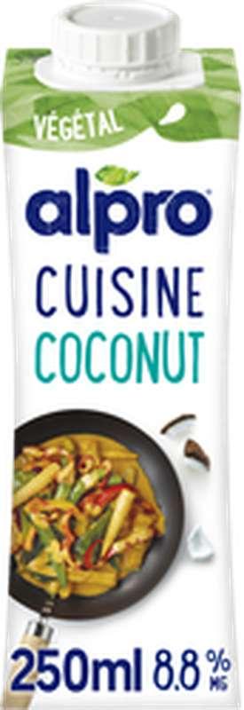 Crème végétale à base de coco pour cuisiner, Alpro (250 ml)