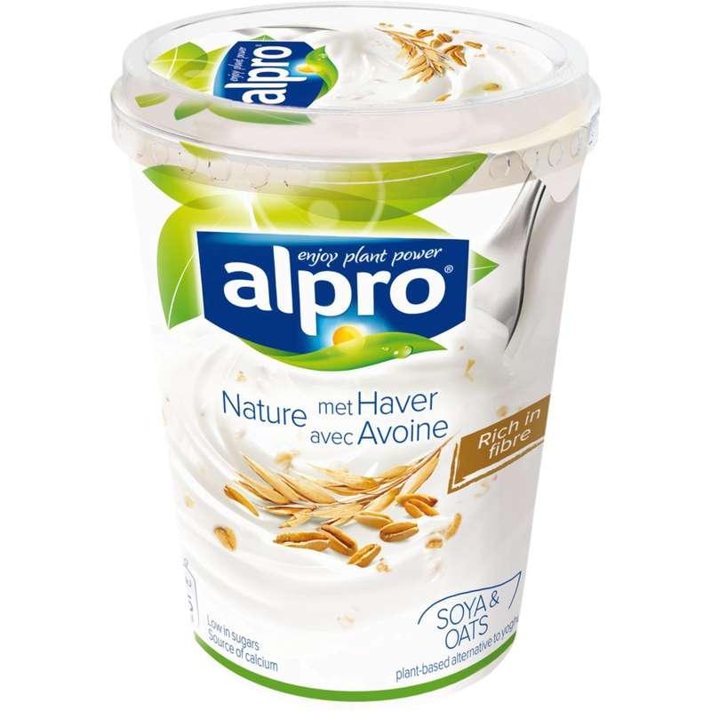 Dessert brassé au soja et à l'avoine, Alpro (500 g)