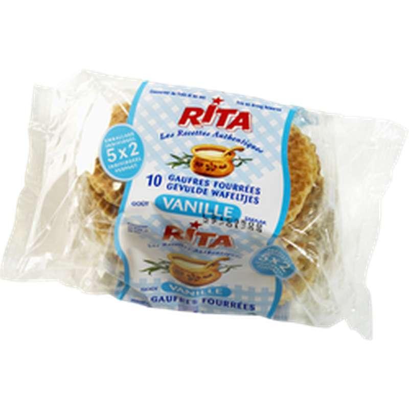 Gaufres Vergeoise à la vanille, Rita (300 g)
