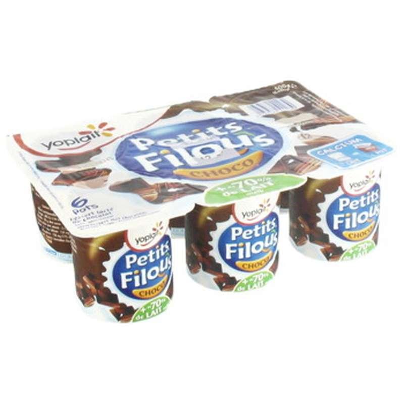 Petits Filous chocolat, Yoplait (6 x 100 g)
