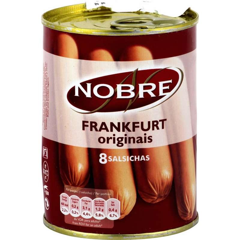 Saucisses Frankfurt, Nobre (350 g)