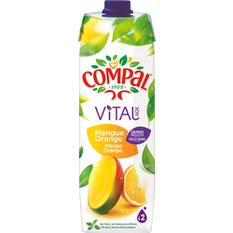 Jus de mangue et d'orange, Compal (1 L)