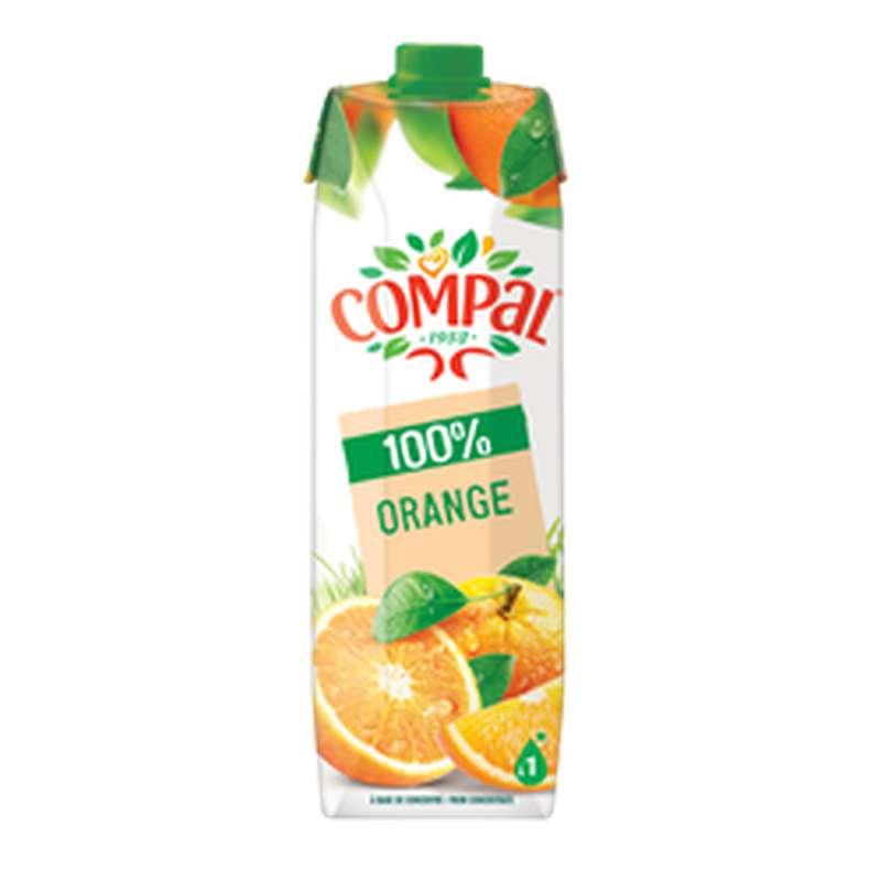 Pur jus d'orange, Compal (1 L)