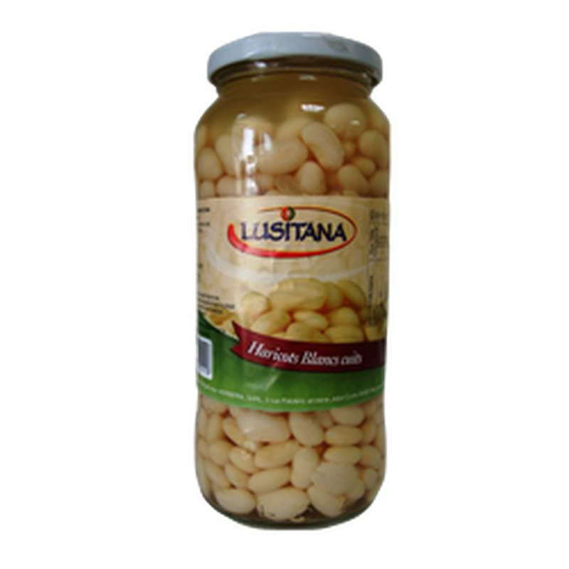 Haricots blancs cuits, Lusitana (400 g)