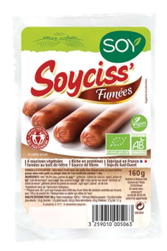 Soycis' fumées BIO, Soy (x 4, 160 g)