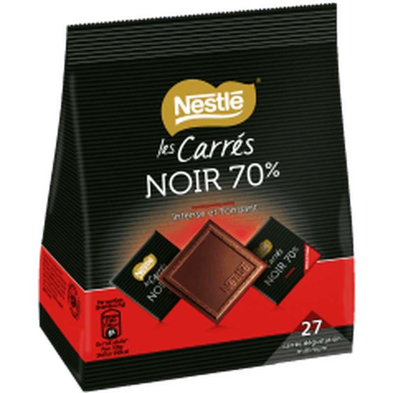 Carrés de chocolat noir 70%, Nestlé (x 27)