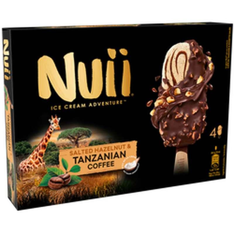 Bâtonnet de café de Tanzanie et noisette, Nuii (266 g)