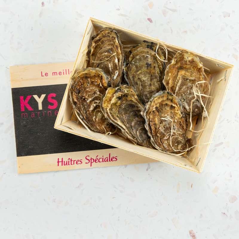 6 Huîtres Spéciales KYS N°3, Kys Marine