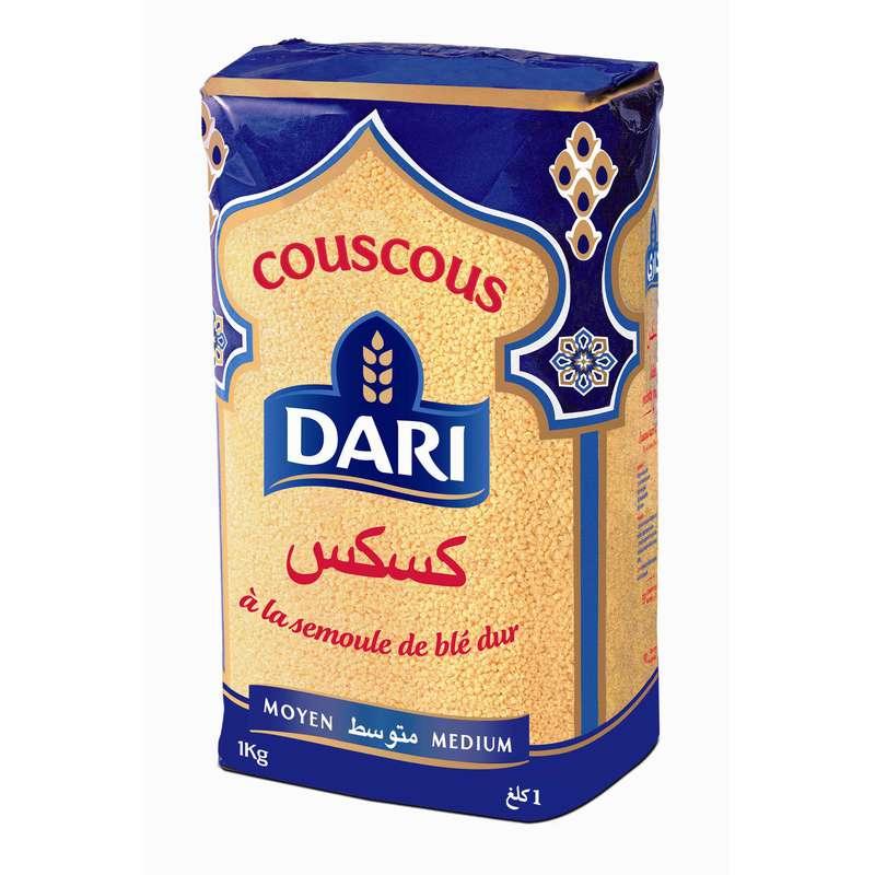 Couscous moyen, Dari (1 kg)