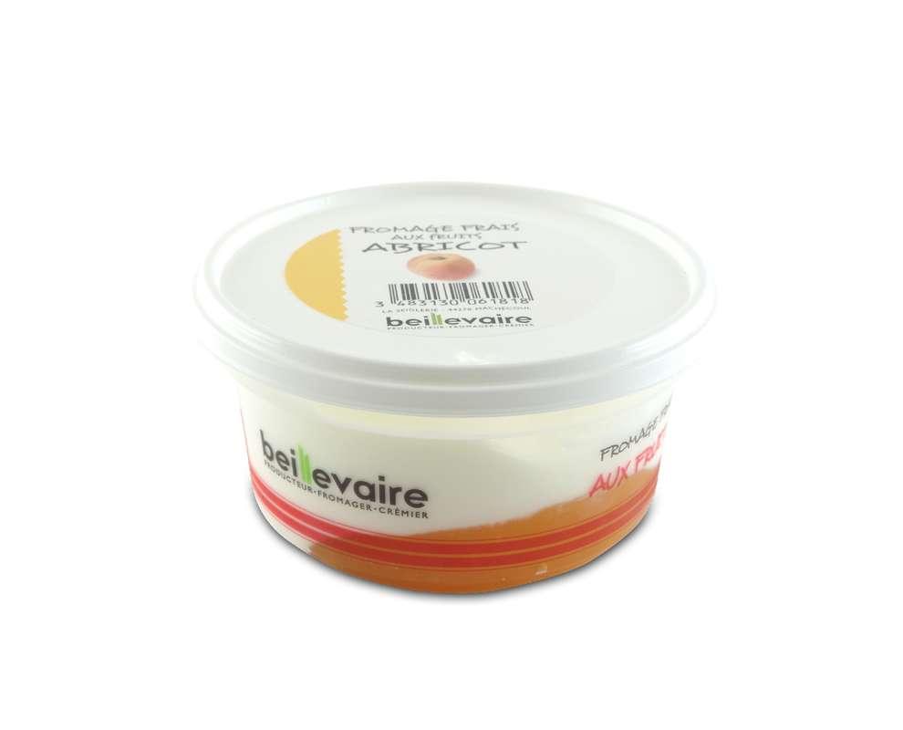 Fromage frais à l'abricot, Beillevaire (150 g)