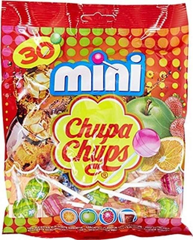 Pack de 12 - Mini sucettes, Chupa Chups (x 30, 180 g)