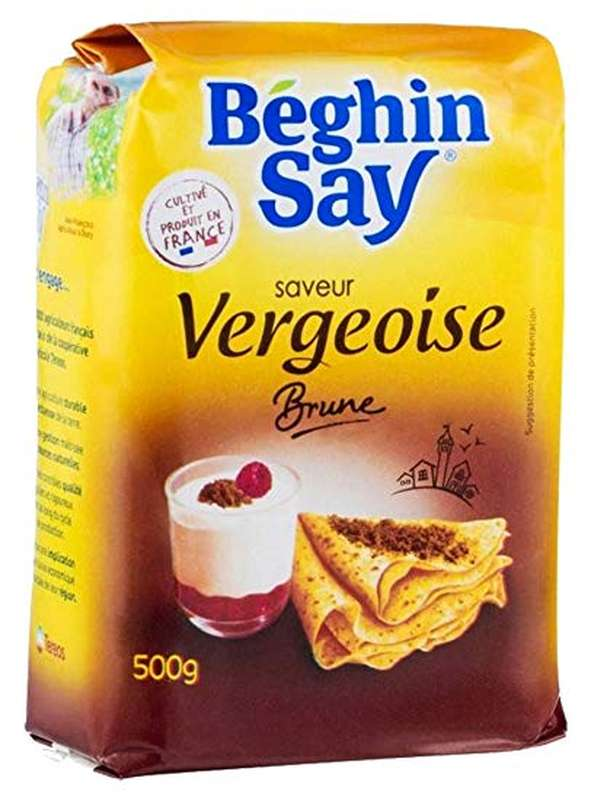 Vergeoise brune, Beghin Say (500 g)