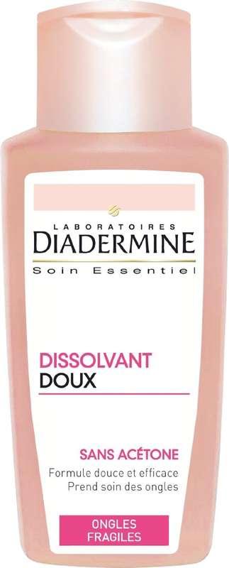 Dissolvant doux pour ongles, Diadermine (125 ml)