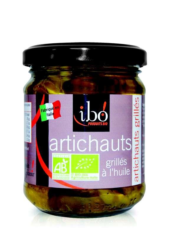 Artichauts BIO grillés à l'huile, Ibo (190 g)