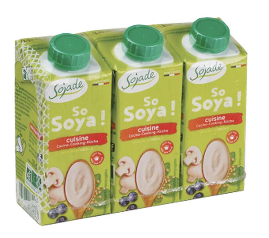 So Soya cuisine U.H.T., Sojade (3 x 20 cl)