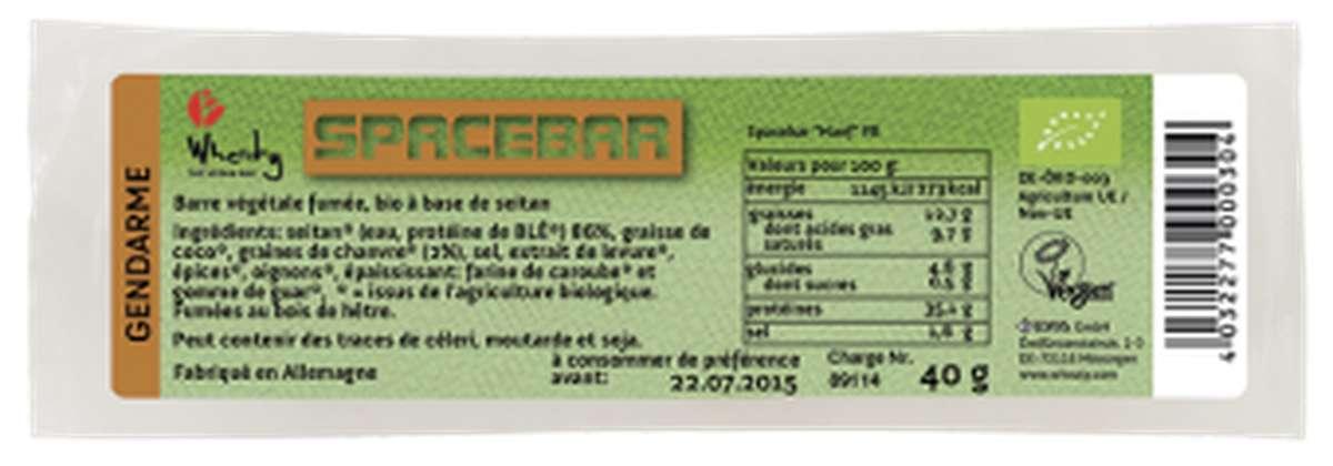 Spacebar Gendarme BIO, Wheaty (40 g)