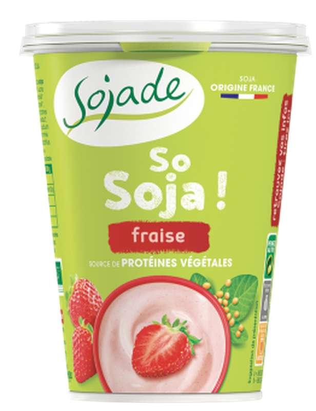 So Soja fraise BIO, Sojade (400 g)