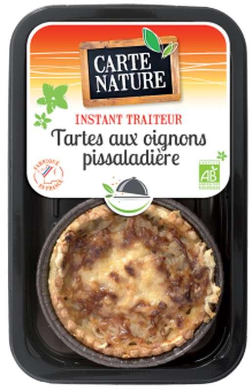 Tartes aux oignons façon pissaladière BIO, Carte Nature (230 g)