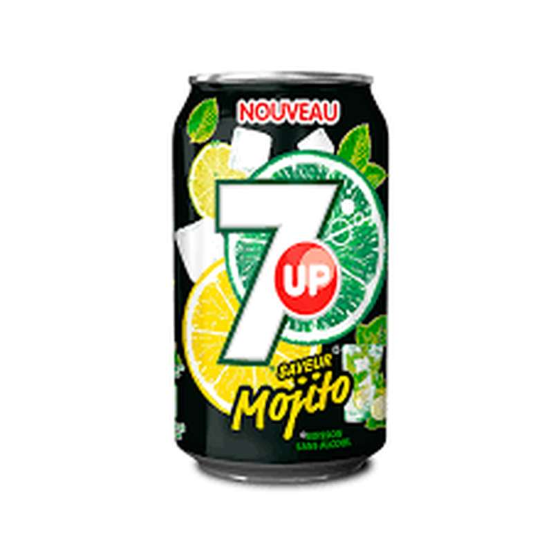 7 up mojito (33 cl)