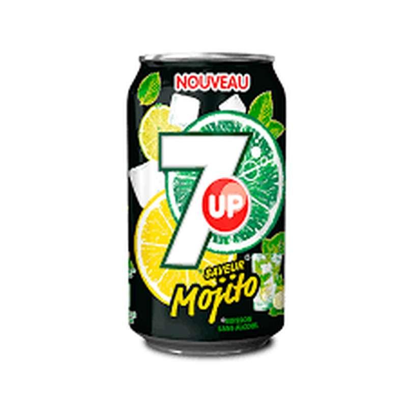 7 up mojito (33 cl)