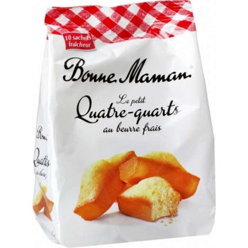 Petits Quatre-quarts au beurre frais, Bonne Maman (300 g)