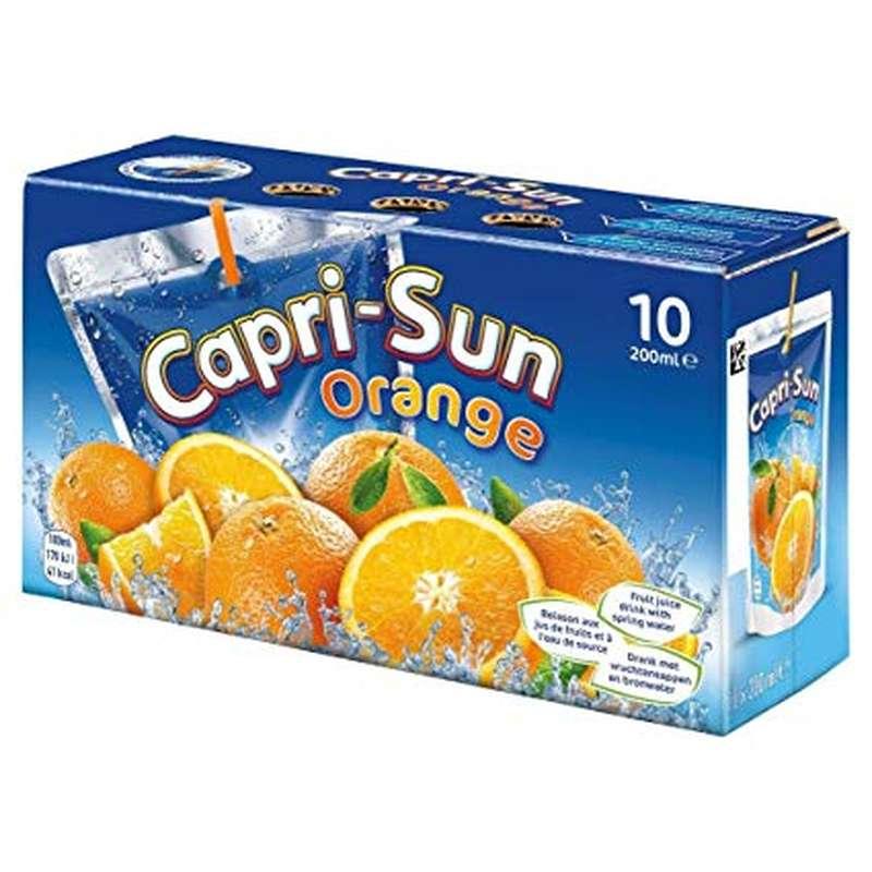 Pack de Capri-Sun à l'orange (10 x 20 cl)
