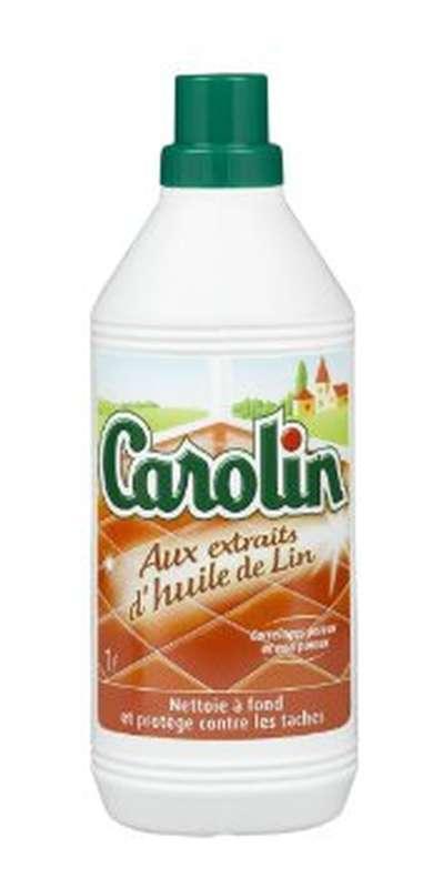Nettoyant pour carrelage à l'huile de lin, Carolin (1 L) | La belle vie : Changez votre vision ...