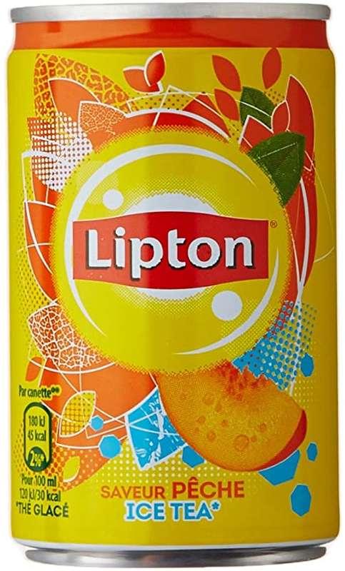 Ice Tea pêche, Lipton (15 cl)
