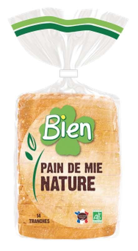 Pain de mie nature BIO, Bien Panification (500 g)