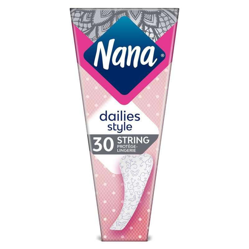 Protège-slip String, Nana (x 30)