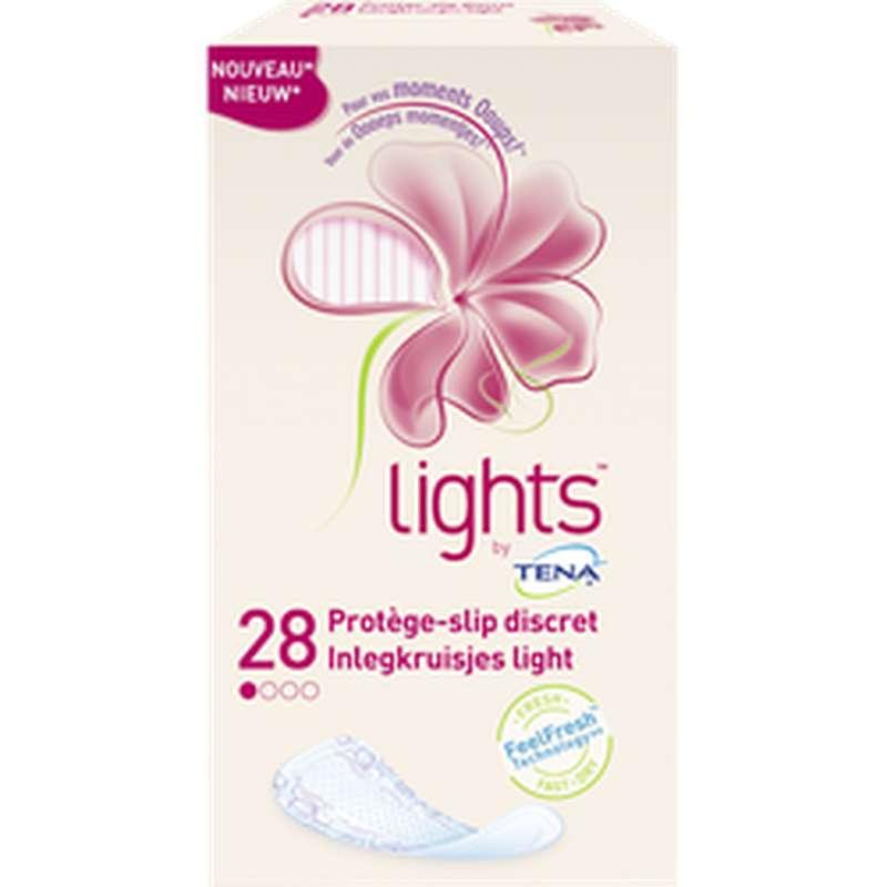 Protège lingerie discret Lights, Tena (x 28)