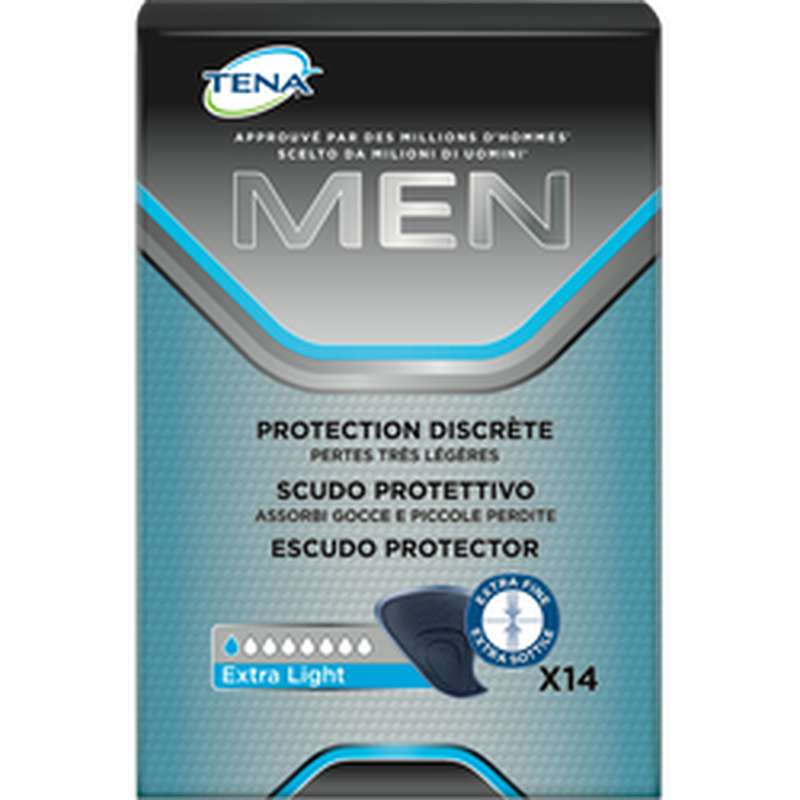 Protection discrète men extra light, Tena Men (x 14)