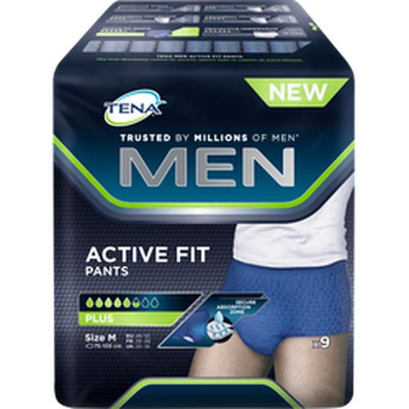 Culottes anti-fuites Active Fit taille M, Tena Men (x 9)