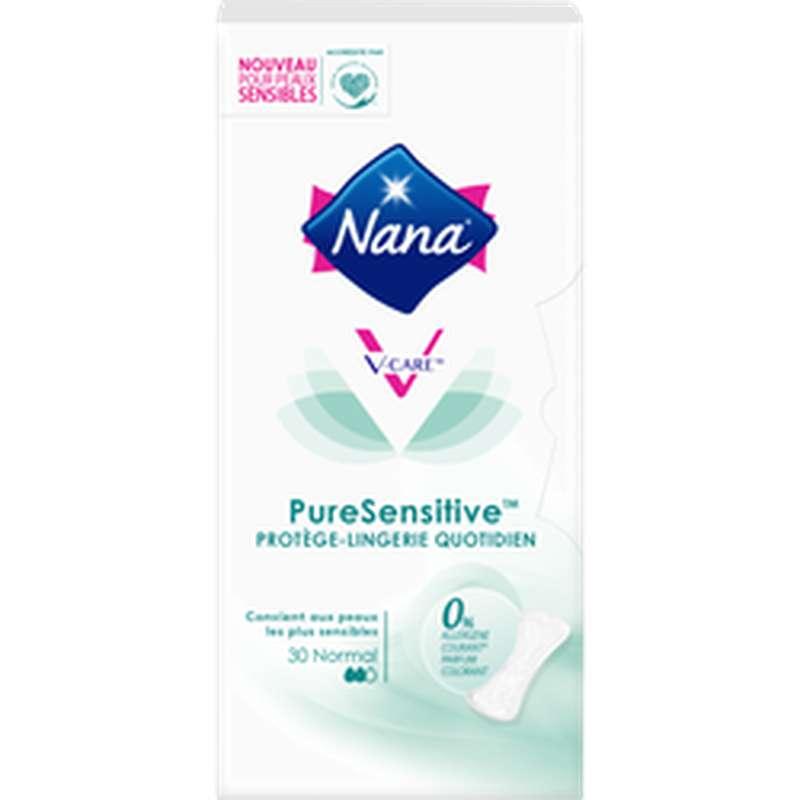 Protège-slips pure sensitive Normal, Nana (x 30)
