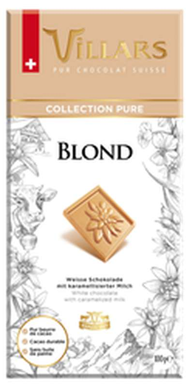 Chocolat blond, Villars (100 g)