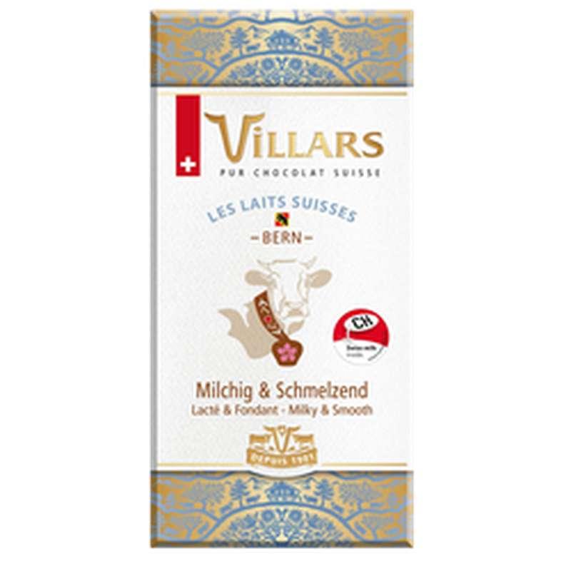 Chocolat aux laits suisses de Bern, Villars (100 g)