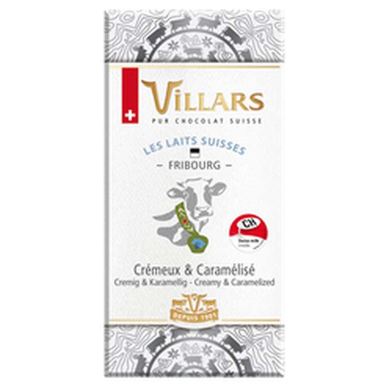 Chocolat aux laits suisses Fribourg, Villars (100 g)