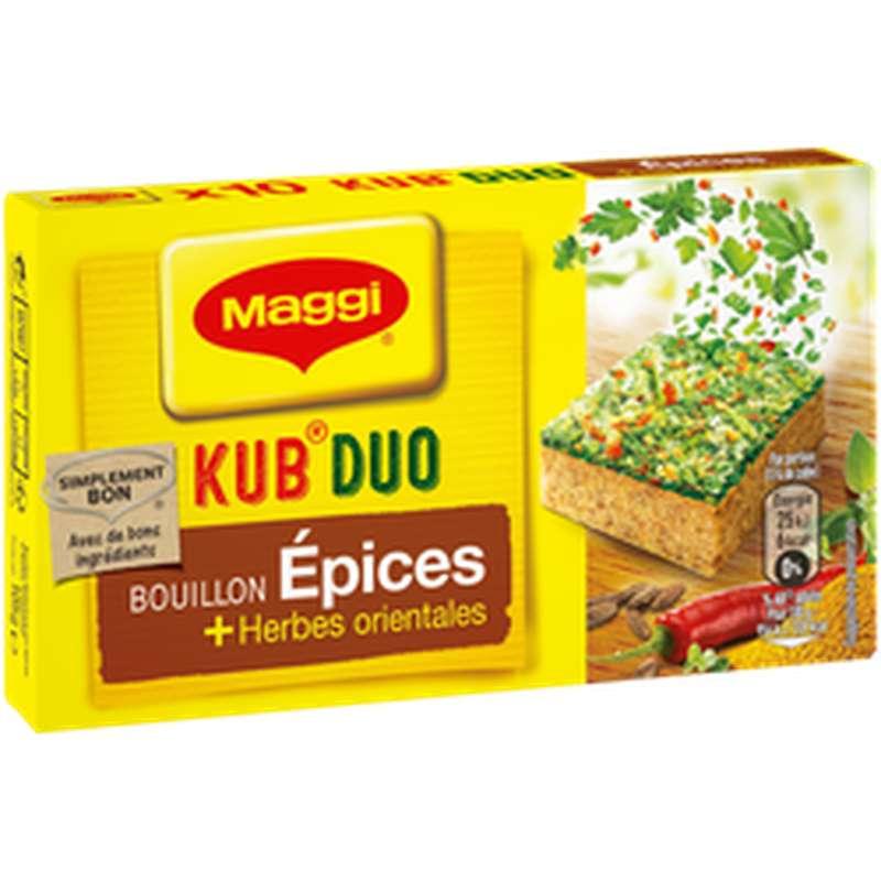 Bouillon Kub Duo Epices et Herbes Orientales, Maggi (105 g)