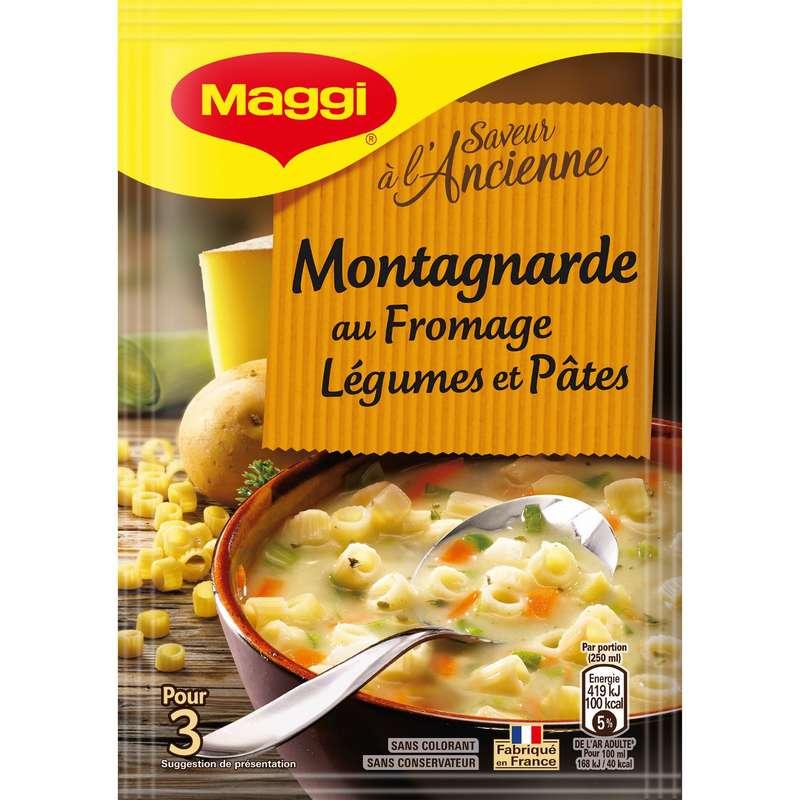 Soupe déshydratée fromage légumes pâtes, Maggi (78 g)