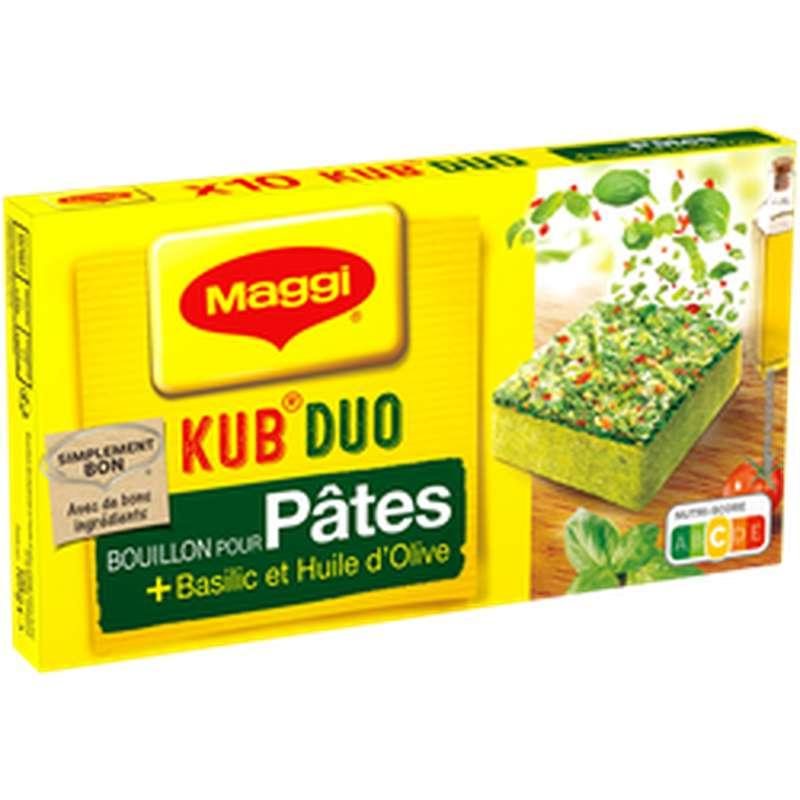 Bouillon Kub Duo Pâtes Basilic, Maggi (105 g)