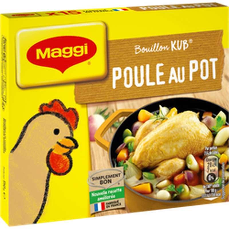 Bouillon kub poule au pot, Maggi (150 g)