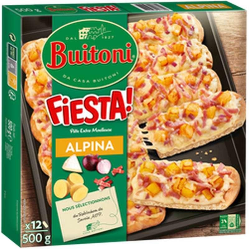 Pizza fiesta alpina, Buitoni (500 g)