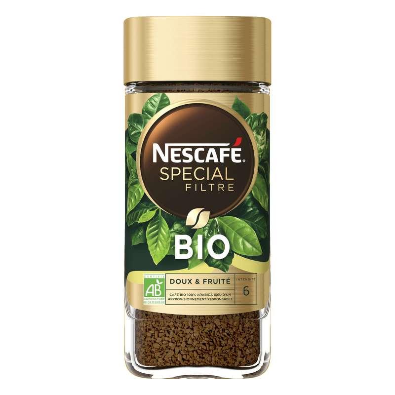 Café soluble spécial filtre BIO, Nescafé (95 g)