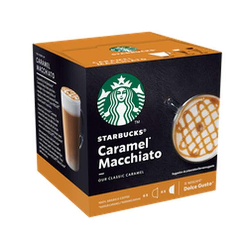 Café capsule Caramel Macchiato, Starbucks by Dolce Gusto (x 12)