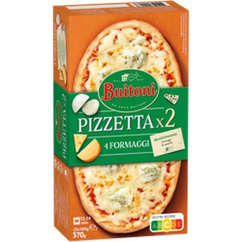 Pizzetta 4 formaggi, Buitoni (x 2, 185 g)