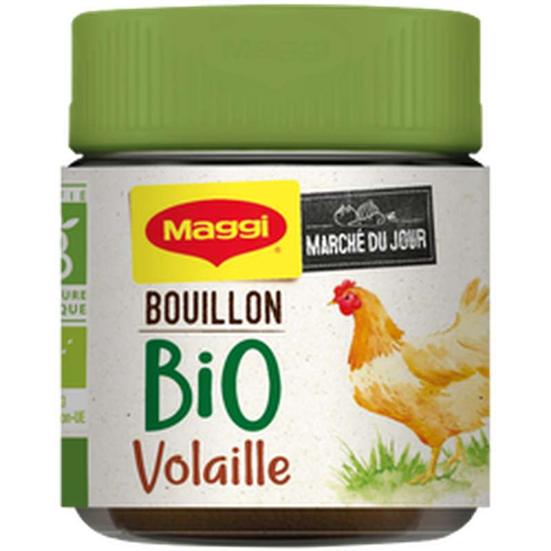 Bouillon de volaille en poudre BIO, Maggi (80 g)