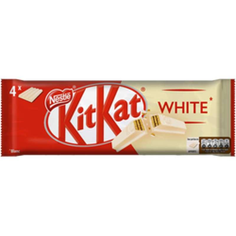 Kit Kat chocolat blanc, Nestlé (x 4)